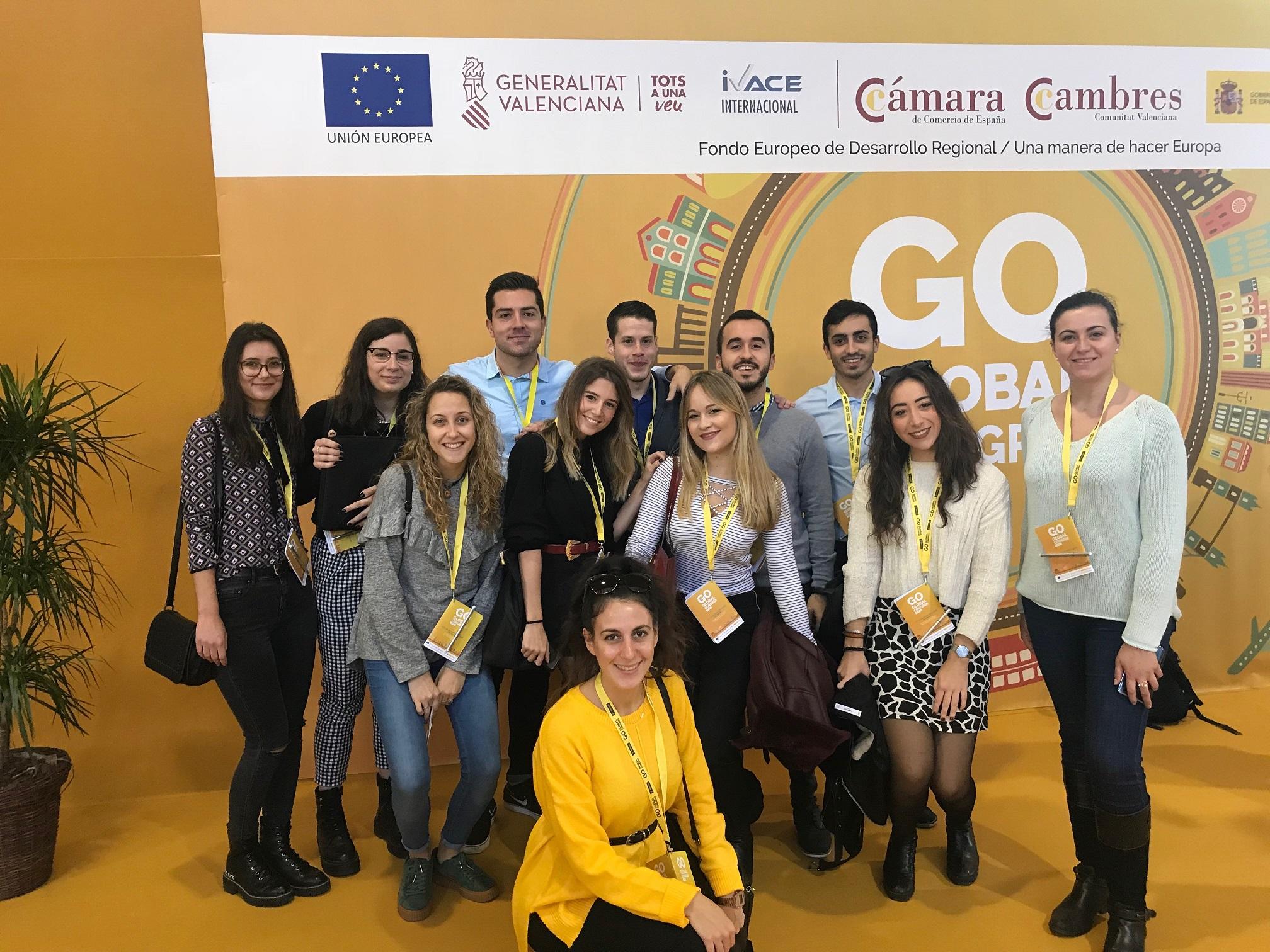 Alumnos del Máster asistieron a la III edición del Congreso  Go Global