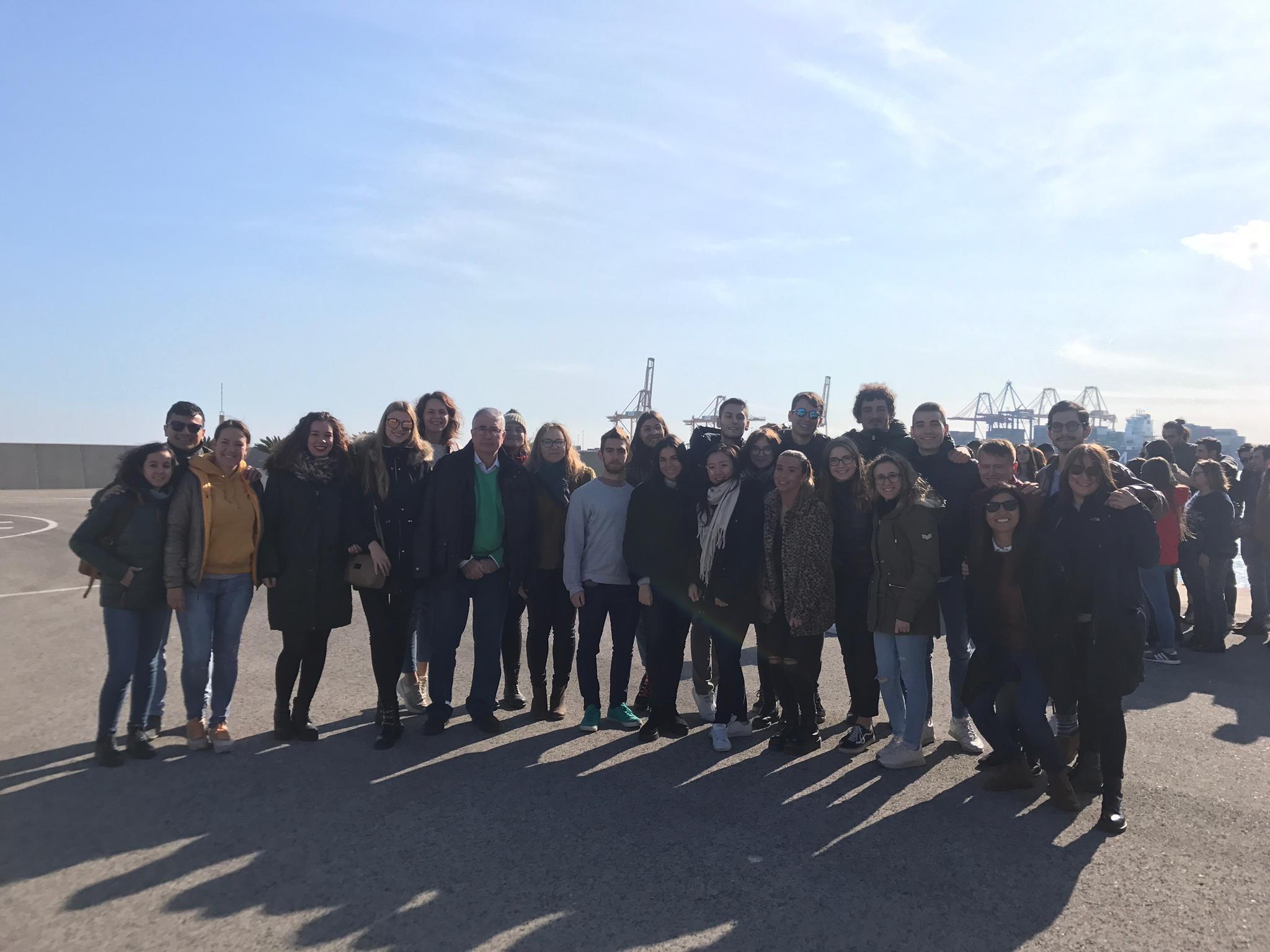 Visita al Puerto de Valencia curso 2019-2020